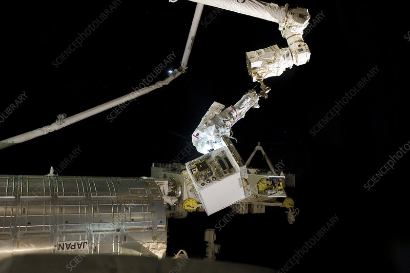 ISS space walk, 2011