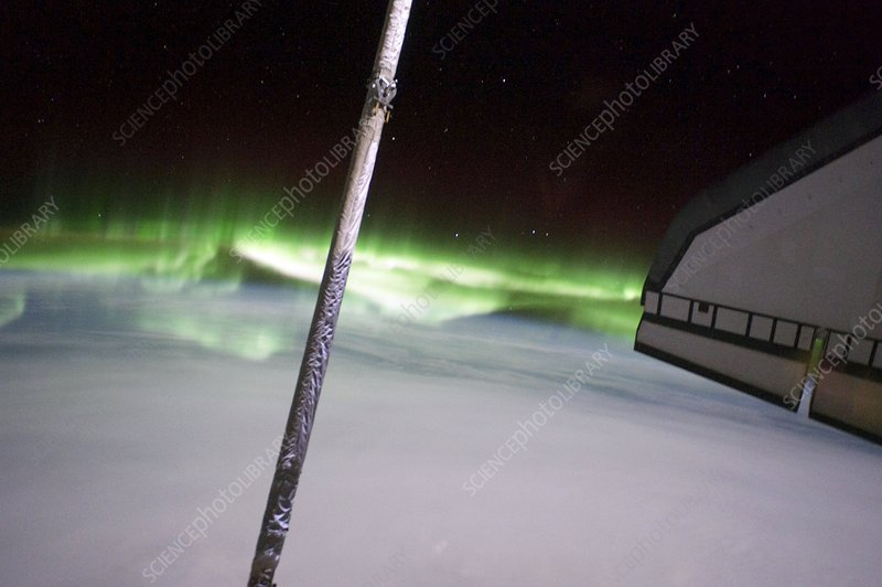 Southern Lights from the ISS, 2011