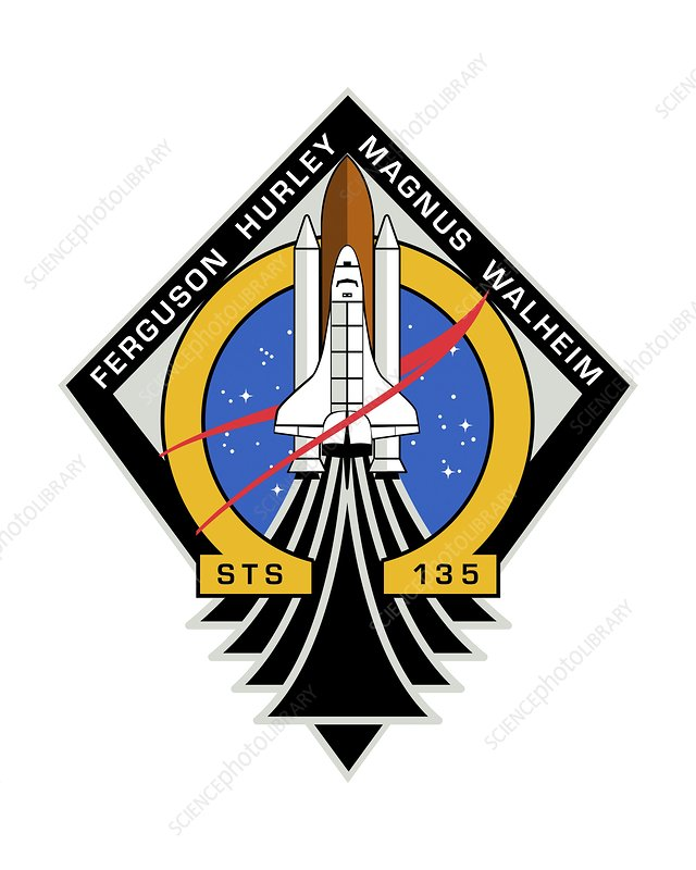 Space Shuttle final mission patch