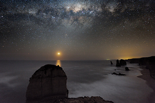 Milky Way over Shipwreck Coast