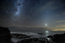 Milky Way over Cape Schanck, Australia