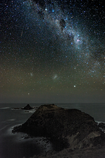 Milky Way over Phillip Island, Australia