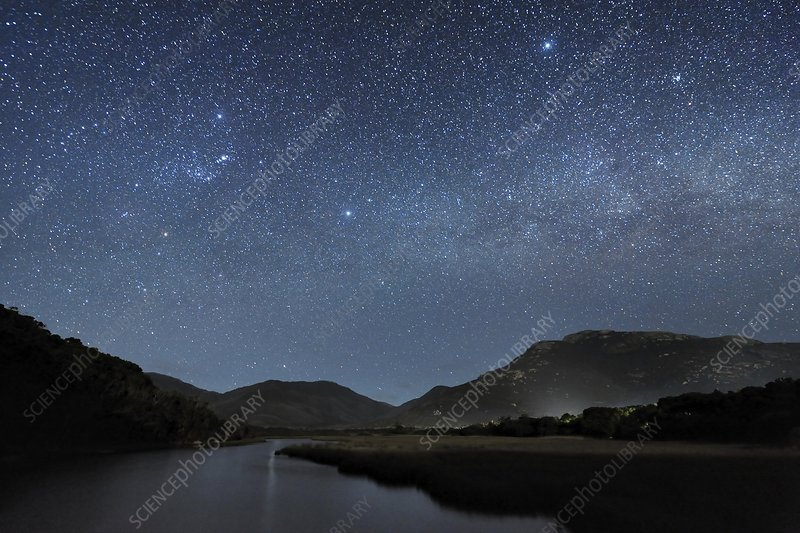 Milky Way over Wilsons Promontory