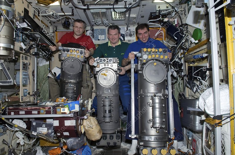 Russian ISS astronauts, July 2011