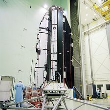 GOCE satellite construction