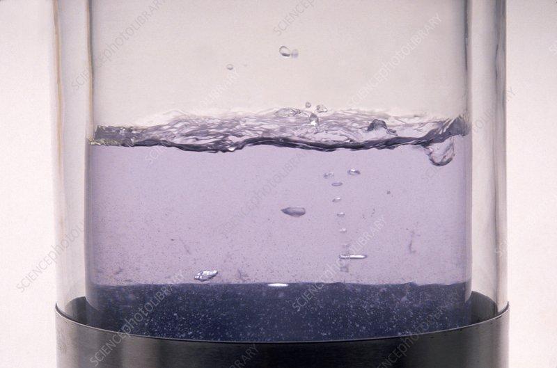 Frozen dioxygen