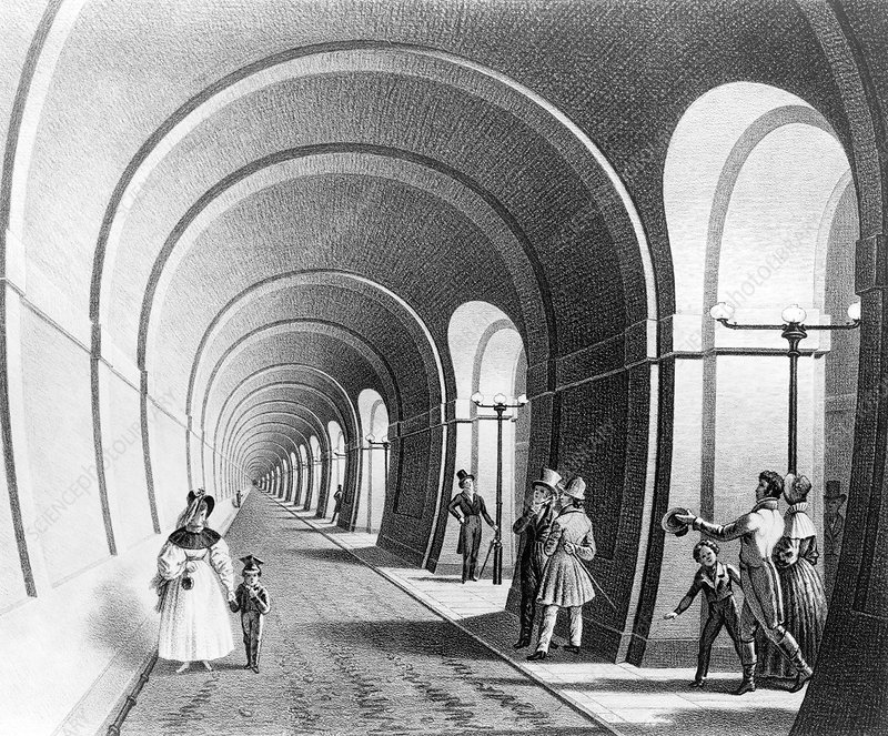 Thames Tunnel, 19th century