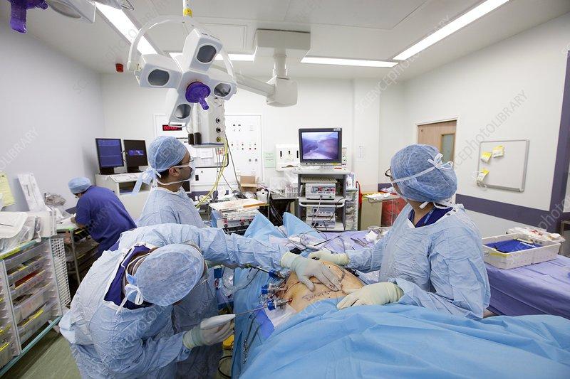 Incisional hernia repair surgery