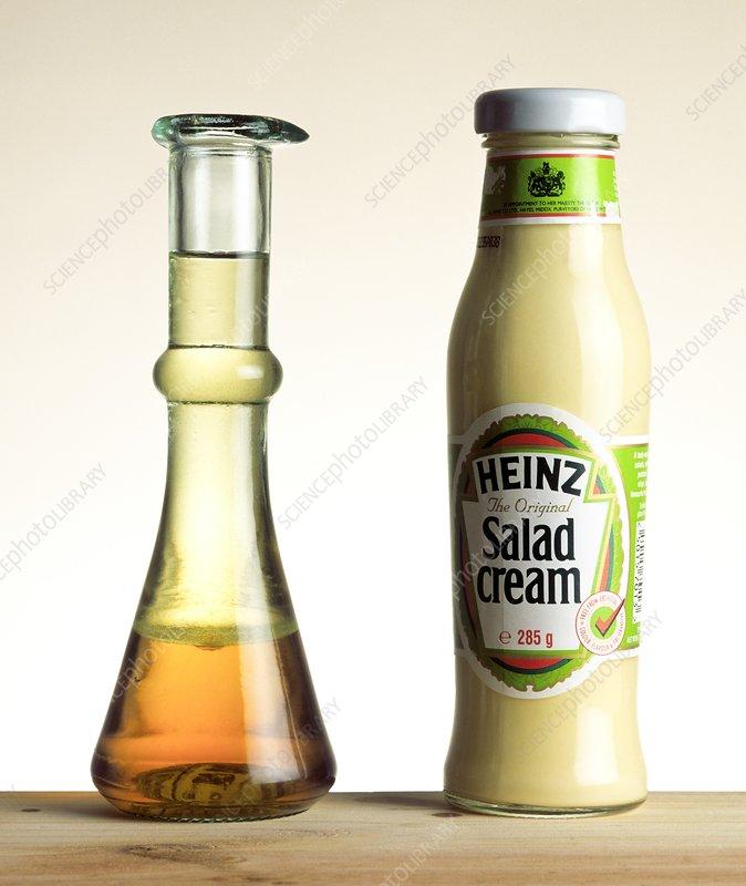 Immiscible liquids demonstration