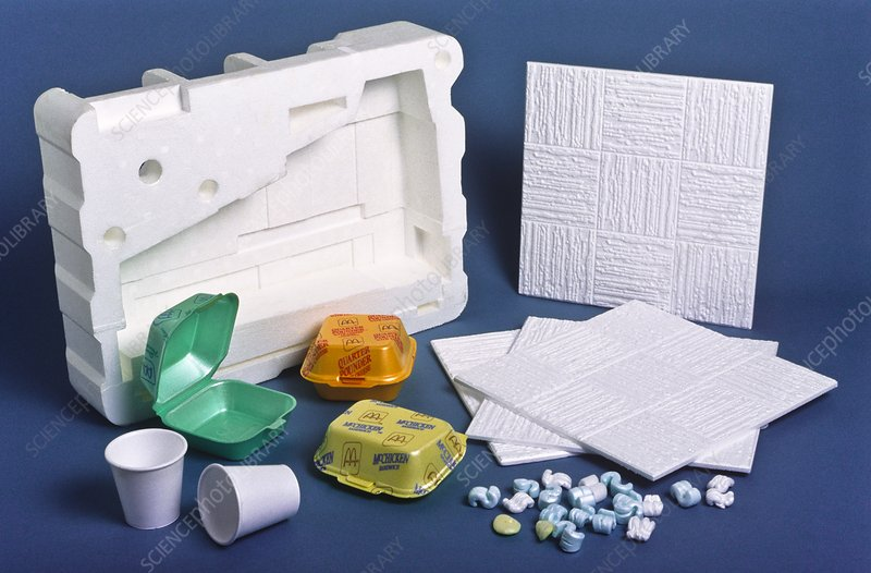 Expanded polystyrene products