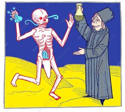 The Dance of Death, allegorical artwork