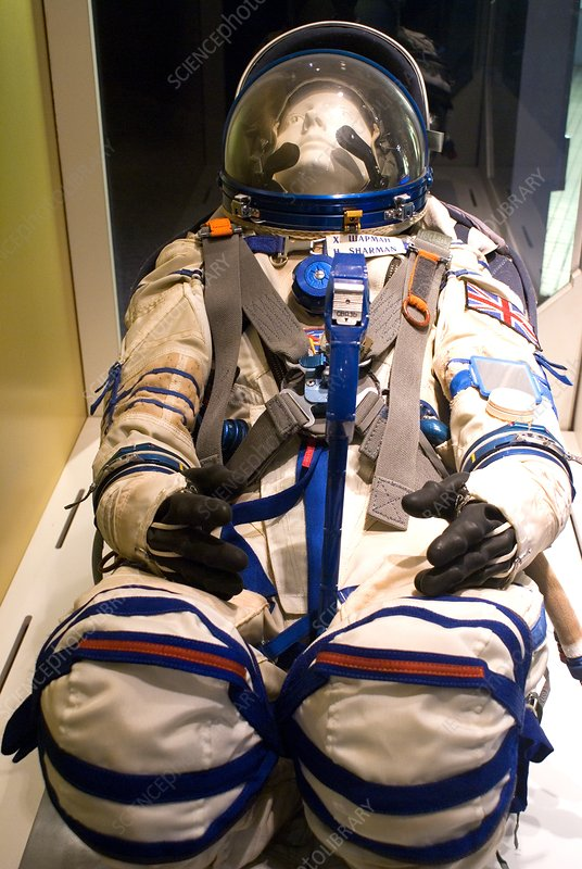 Helen Sharman's spacesuit