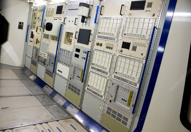 Space station equipment racks