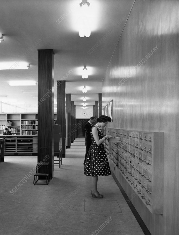 National Meteorological Library, 1962