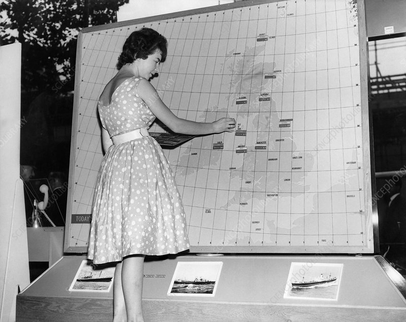 Weather forecasting, 1950s