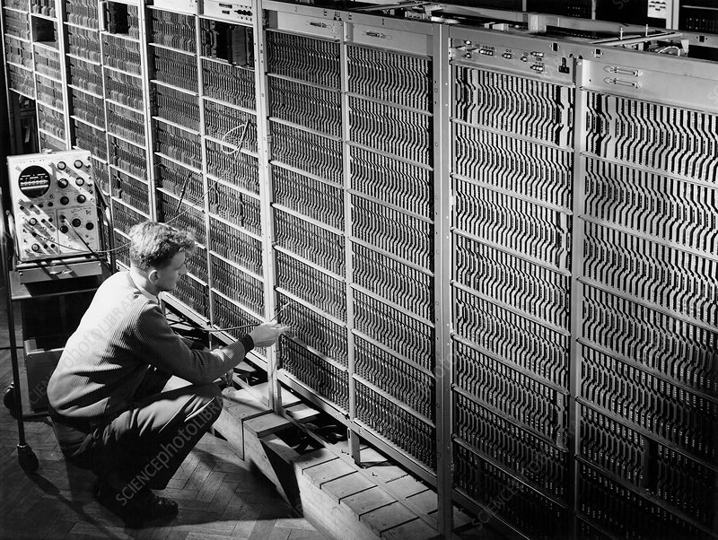 Met Office KDF9 computer, 1965
