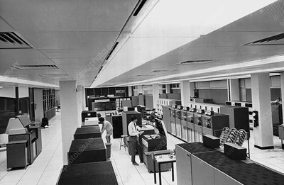 Met Office IBM computers, 1972