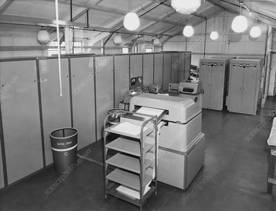 Met Office Mercury computer, 1959