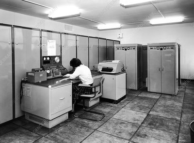Met Office Mercury computer, 1961
