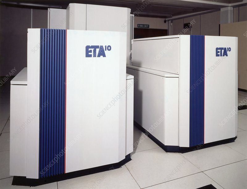 Met Office ETA10 supercomputer, 1988