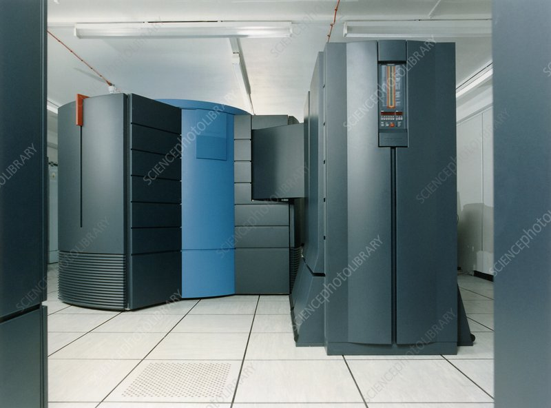 Met Office Cray supercomputer, 1990s