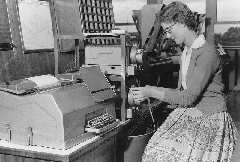 Met Office communications, 1962