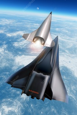 Saenger Horus spaceplane, artwork