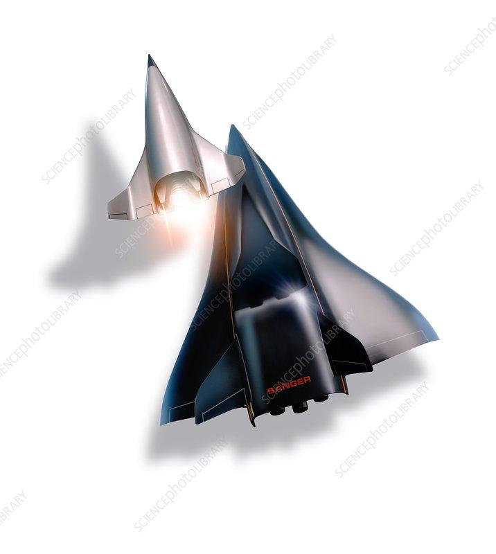 Saenger Horus spaceplane, artwork