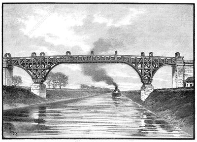 Manchester Ship Canal, 19th century
