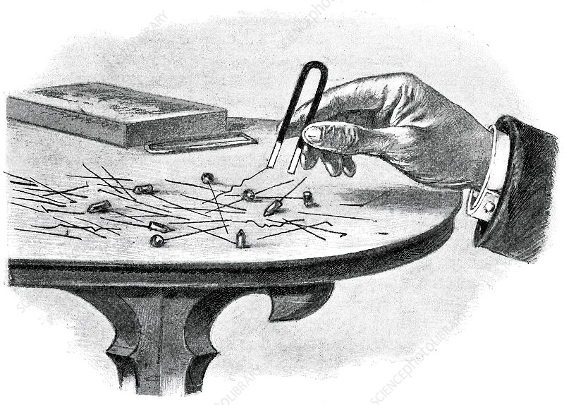 Magnetic game, 19th century