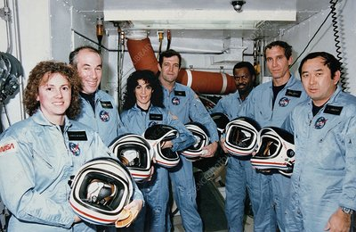 Mission STS-51L Challenger crew