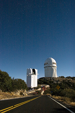 Kitt Peak National Observatory domes