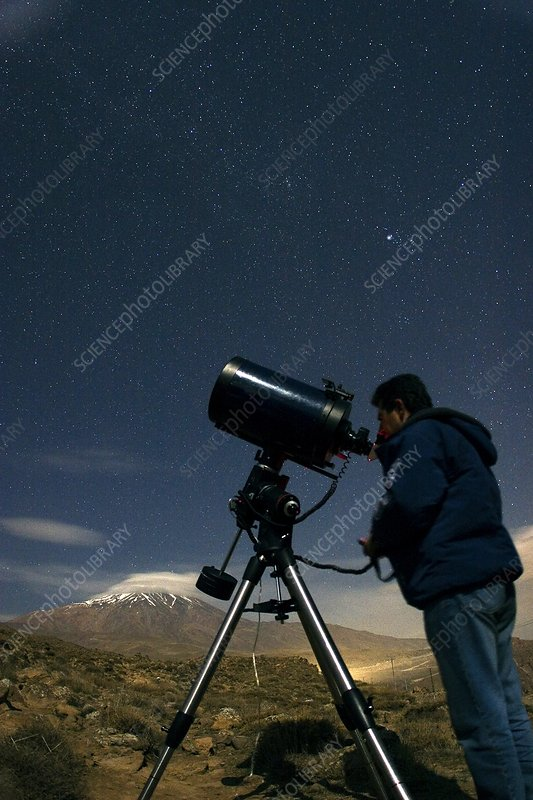 observing with a telescope in a handicap - 533×800