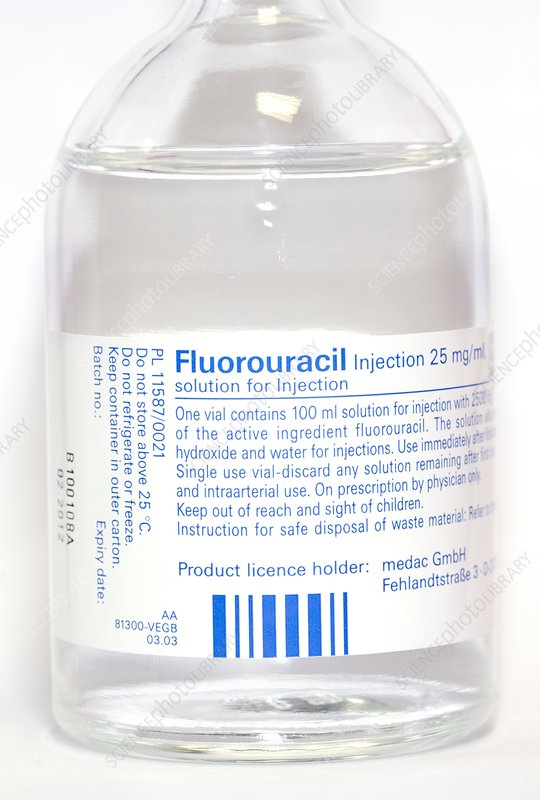Fluorouracil anti-cancer drug