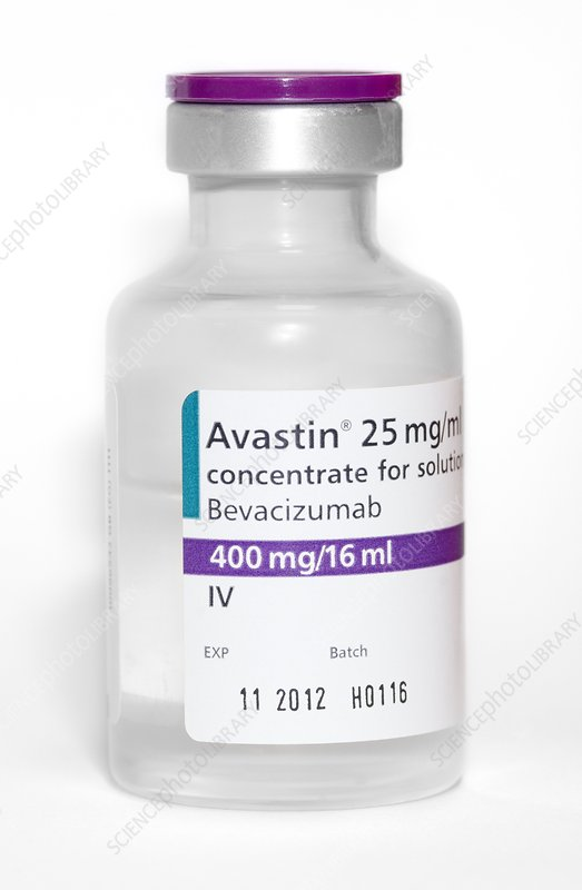 Avastin anti-cancer drug