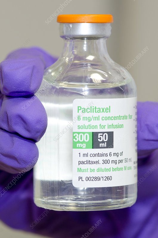 Paclitaxel anti-cancer drug