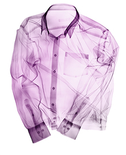 Collared shirt, X-ray