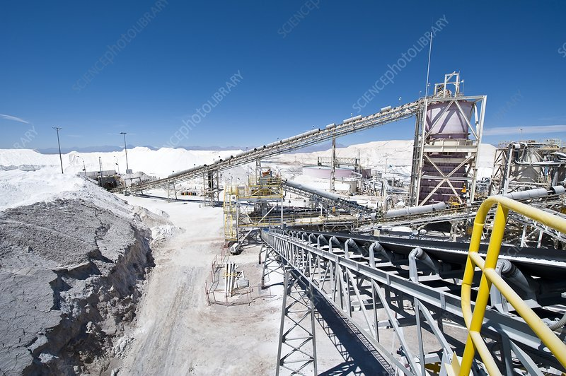 Lithium production