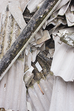 Household asbestos waste