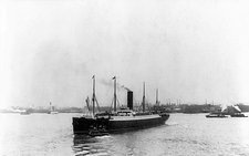 RMS Carpathia in New York harbour