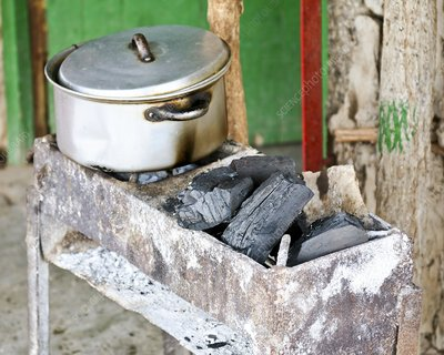 Charcoal stove, Mozambique