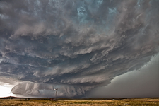 Tornadic supercell thunderstorm
