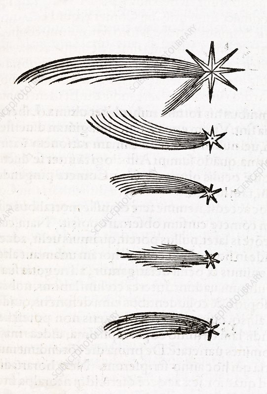 Comet observations, 16th century