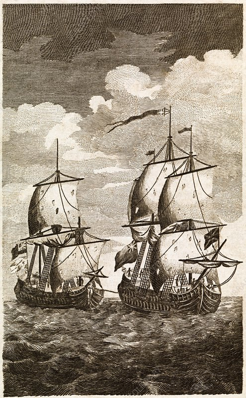 Anson's Spanish galleon capture, 1743