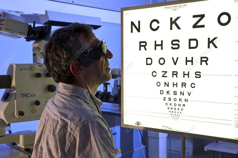 Argus II artificial retina tests