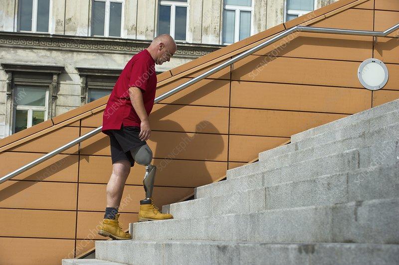 Genium prosthetic leg