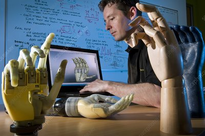 i-LIMB bionic hand research