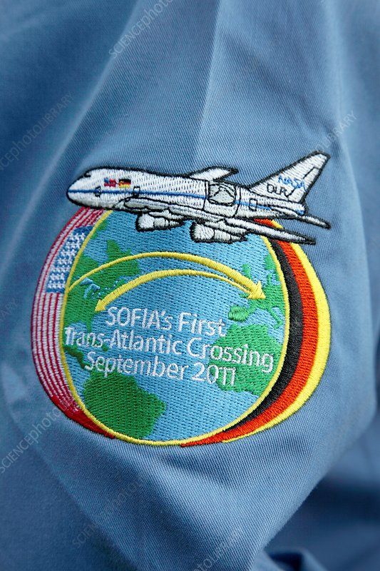 SOFIA observatory mission badge