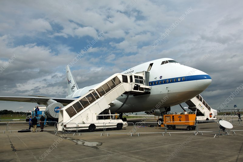 SOFIA airborne observatory aircraft