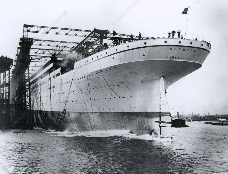 RMS Olympic, Belfast